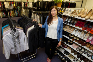 Dress for Success volunteer Kate Julian helps give women confidence. Photo / Brett Phibbs
