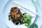 Easy pork chops from Easy, Bill Granger's latest cookbook. Photo / Mikkel Vang