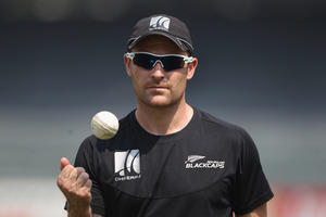 Brendon McCullum will become the country's 29th test captain at Cape Town on January 2. Photo / Getty Images