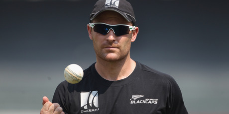 McCullum is leading a mob of virtual nobodies by international standards against a ruthless foe who revel in a fightback. Photo / Getty Images