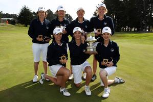 Champions: The winning Auckland team.  Photo / photosport.co.nz