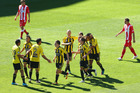 Wellington Phoenix soccer team. Photo / Getty Images