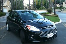 The Ford C-Max hybrid. Photo/ Liz Dobson