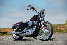 Harley Davidson 72. Photo / Jacqui Madelin