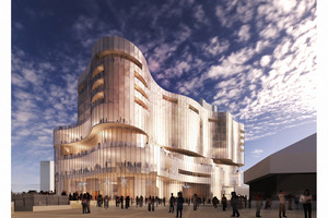 An artist's impression of the proposed centre in Adelaide Photo / Steven McNicholl