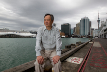 The sea played an important part in Ang Lee's life for two years as he worked on Life of Pi. Photo / Brett Phibbs