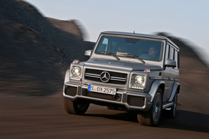 The big, powerful Mercedes-Benz G63 AMG will be hitting New Zealand roads next year, replacing the already antisocial G55. Photo / Supplied