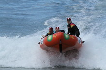 The Karioitahi Surf Life Saving Club says dependable gear is fundamental to its operations. Photo / Supplied