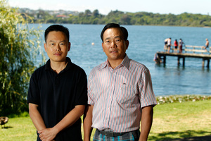 Brothers Philip Chen and Peter Chen. Photo / Michael Craig