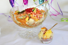 A fresh and fruity take on trifle, with no cream or custard added. Photo / Doug Sherring