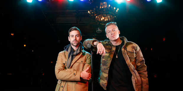 Macklemore & Ryan Lewis have been at number one on the New Zealand chart for six weeks. Photo / Supplied