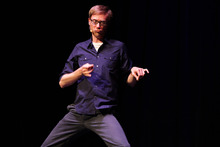 Stephen Merchant. Photo / AP