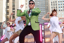 A video of South Korean rapper PSY has become the first clip to reach over 1 billion YouTube hits.Photo / AP