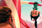 Ralph and Vanellope are well voiced by John C. Reilly and Sarah Silverman. Photo / Supplied