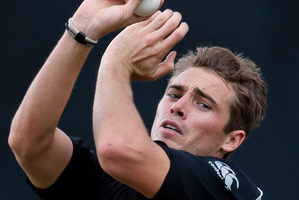 In a few years Tim Southee might make a fine vice-captain. Photo / AP