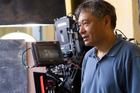 Ang Lee on the set of Life Of Pi. Photo / AP/20th Century Fox