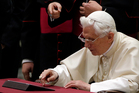 Pope Benedict XVI is one of 200 million Twitter users worldwide. Photo / AP