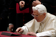 Pope Benedict XVI is one of 200 million Twitter users worldwide. Photo / AP