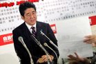 The Liberal Democratic Party, led by former PM Shinzo Abe, has pledged to print money and stimulate a faltering, deflation-wracked Japanese economy. Photo / AP