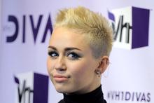 Miley Cyrus arrives at VH1 Divas.Photo / AP