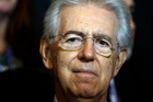 Italian Premier Mario Monti has resigned.Photo / AP