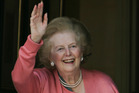 Former British Prime Minister Margaret Thatcher is recovering after having a growth removed from her bladder.Photo / AP