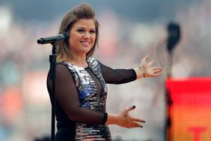 American singer Kelly Clarkson is engaged. Photo / Brett Phibbs