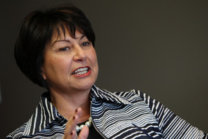 Education Minister Hekia Parata 'lucky to stay'.  Photo / Joel Ford