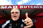Founder Peter Leitch will remain the Mad Butcher's brand ambassador after the sale. Photo / Martin Sykes