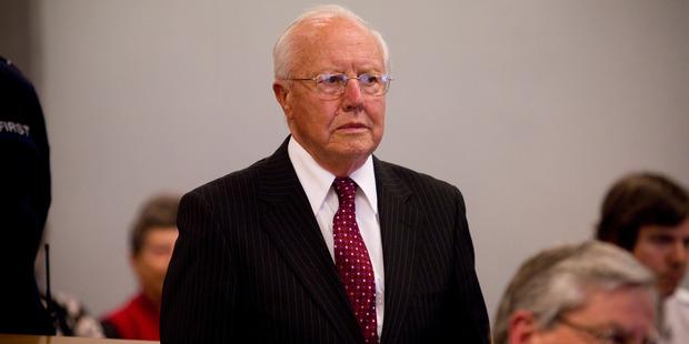 Former Bridgecorp chairman Bruce Davidson. Photo / NZPA