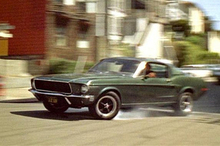 Steve McQueen was behind the wheel of this Mustang in the 1968 movie Bullitt. Photo / Supplied