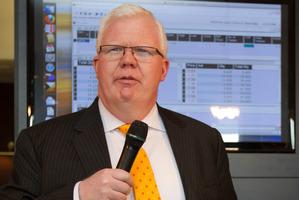 NZX chief executive Tim Bennett. Photo / Greg Bowker