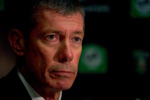 John Buchanan was overruled on the captaincy. Photo / NZ Herald