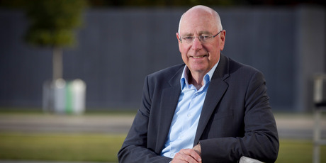 Warehouse founder Sir Stephen Tindall has given his backing to Kiwi software firm Booktrack. Photo / Natalie Slade