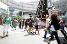 Sylvia Park - teenage shopping heaven. Photo / Herald on Sunday