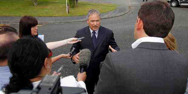 Police such as Detective Inspector Mark Loper dealt with huge media interest and public horror after the preschooler was raped in Turangi a year ago today. Photo / Christine Cornege