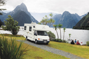 The campaign by the Holiday Parks Association targets young Chinese to experience the country by travelling in campervans, stopping at holiday parks. Photo / File