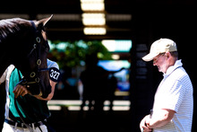 Sydney trainer John Hawkes. Photo / Getty Images