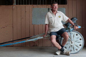Tony Herlihy, Harness Racing driver. Photo /  OAM