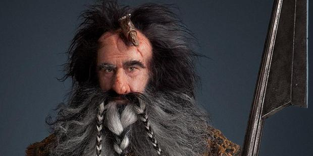 Kiwi actor William Kircher as dwarf Bifur in The Hobbit, a role which has helped land him a movie lead. Photo / Supplied