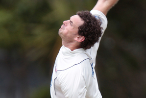 The efforts of Canterbury's Gareth Andrew overshadowed the bowling of Auckland's Kyle Mills (picture). Photo / NZ Herald