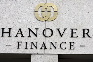Failed finance company Hanover Finance. Photo / NZPA / Wayne Drought