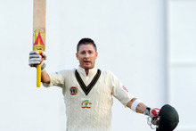 Australia's Michael Clarke. Photo / NZPA