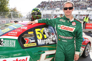 Greg Murphy may just race the enduro events in the V8 Supercars. Photo / NZPA