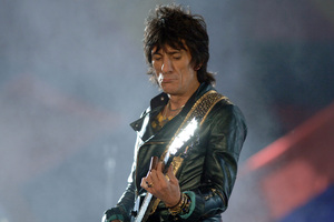 Rolling Stones Ronnie Wood has tied the knot to his much younger girlfriend.Photo / AP
