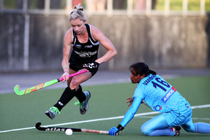 The lure of the Olympics is helping to drive on Anita Punt and the Black Sticks, who won their series against India. Photo /  PHOTOSPORT