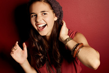If Carly Rose Sonenclar, 13, can muster one of her top performances she should win X Factor USA. Photo / Supplied