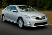Toyota's Camry is the biggest-selling model in the US, but failed a new type of crash test developed by the insurance industry. Photo / Supplied