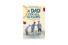 Ian Mucklejohn has written two books about life with his sons, (from left) Ian jnr, Piers and Lars. Photo / 