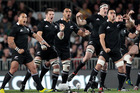 The All Blacks played 14 test this season, winning 12 of them. Photo / Richard Robinson